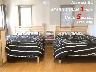 Cozy Flat in Central Tokyo / Wifi / Roppongi. - Minato vacation rentals