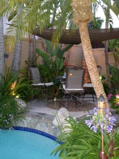 Large Tropical Home Heated Pool - Lake Forest vacation rentals