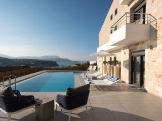 Luxurious villa with private swimming pool and gym - Almyrida vacation rentals