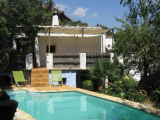 secluded house with pool on the edge of a village - La Taha vacation rentals