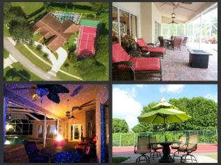 Tuscan Luxury Estate Private Tennis Ct Heated Pool - Wellington vacation rentals