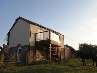 Barn conversion with fantastic views - Lifton vacation rentals