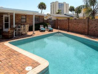 Daytona Beach Pool  Steps until your toes touch the Ocean! - Daytona Beach vacation rentals
