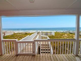 Charming House with Deck and Internet Access - Kure Beach vacation rentals