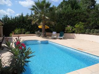 REZ DE JARDIN avec piscine, terrasse, jardin, WIFI - Taradeau vacation rentals