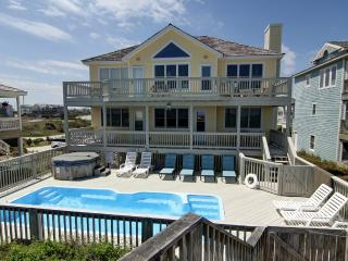 SunDancer 8 BR Oceanfront, pool, Cabana Service! - Nags Head vacation rentals