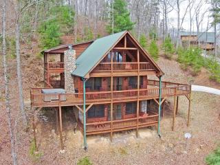 Eagles Perch Lodge -expansive decks, mountain view - Blue Ridge vacation rentals