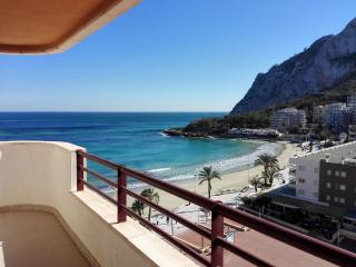 18B Beachfront apartment with pool and sea views - Calpe vacation rentals