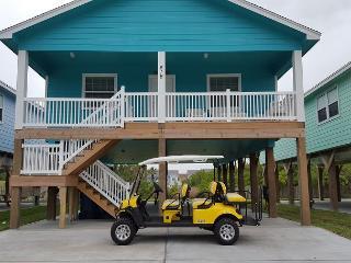 Shore Beats Work: BRAND NEW!  NFL SUNDAY TICKET, Grill, Golf Cart Included - Port Aransas vacation rentals