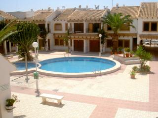 Frontline Ground 3 bed Apartment overlooking beach - El Mojon vacation rentals