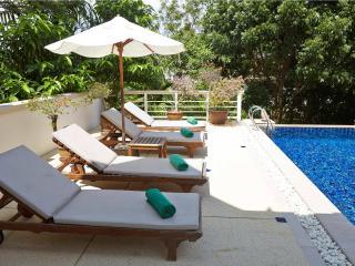 Family pool villa walk to beach - Phuket (3BDR) - Karon vacation rentals