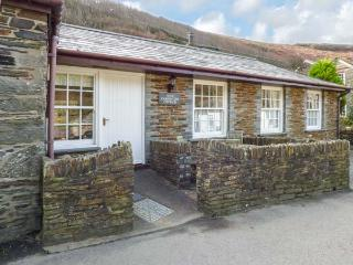OLDE CARPENTERS COTTAGE, single-storey, WiFi, private patio, fabulous location, in Boscastle, Ref 920463 - Boscastle vacation rentals