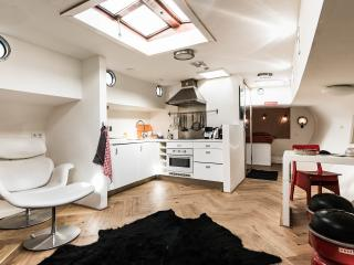2 bedroom Houseboat with Deck in Amsterdam - Amsterdam vacation rentals