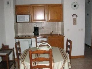 Bright 2 bedroom Praz Sur Arly Condo with Balcony - Praz Sur Arly vacation rentals