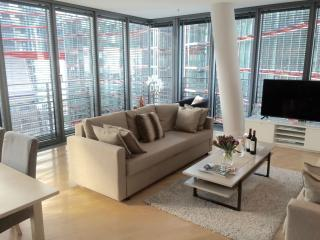 PURE LUXURY! NEW! 2BEDROOM/2BATH most central in SonyCenter! 1 minute to subway! - Berlin vacation rentals