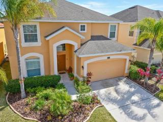 Stunning 6bed 4.5 bath villa, gated, fitness equip - Kissimmee vacation rentals