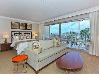 Spacious Ilikai Studio with FREE parking/WiFi and Marina/Ocean Views! - Waikiki vacation rentals