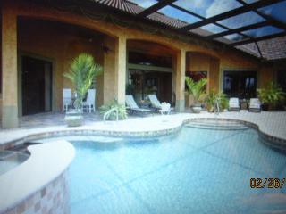 Gorgeous Private Villa, pool, deck and dock - North Fort Myers vacation rentals