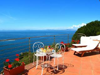 Villa with amazing sea view in Sorrento Coast - Massa Lubrense vacation rentals