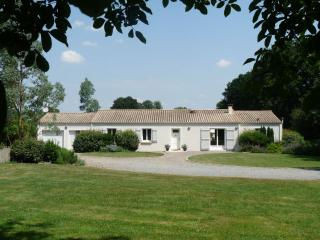 Beautiful Gite with Tennis Court and Satellite Or Cable TV - La Caillere vacation rentals