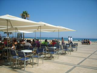 CANET PLAGE BEAU F2 AVEC VUE MER A 60M PLAGE TERRA - Canet-Plage vacation rentals