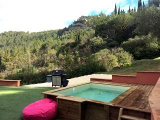 Les Romarins, jardin et piscine - Lagrasse vacation rentals