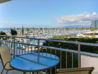 Waikiki Beach Ilikai 431 OCEAN SUNSET VIEW @ BCH! - Honolulu vacation rentals