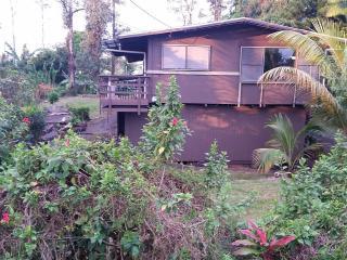 Pahoa-Pahohoe Hale:  Comfy Home in Central Puna - Pahoa vacation rentals