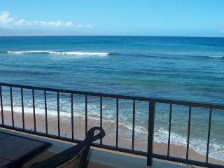 MAUI KAI Oceanfront  #203 Studio UPDATED - Ka'anapali vacation rentals