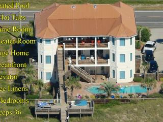 Save $2000 on any open week! Island Drive 3682 Oceanfront! | Private Heated - North Topsail Beach vacation rentals