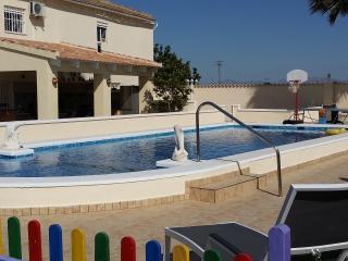 Luxury Large Private Holiday Villa with Pool Between La Marina & San Fulgencio. - San Fulgencio vacation rentals