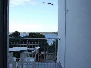 Lovely studio app (2+0) with sea-view, close beach - Seget Donji-Vranjic vacation rentals