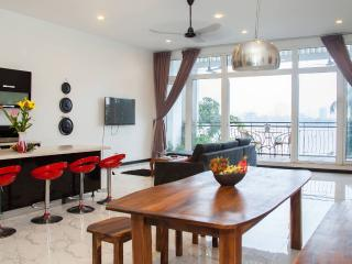 Exclusive Secret Penthouse on Central Riverside - 3 beds & views over Tonle Sap - Phnom Penh vacation rentals