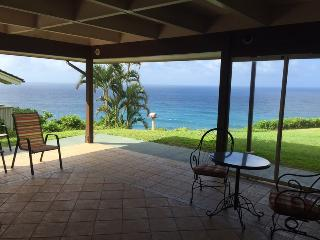 DELUXE  OCEAN FRONT HOME - Princeville vacation rentals