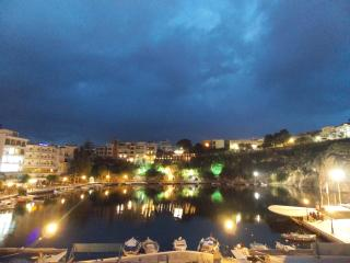 Lake-view apartment for 4 guests - Agios Nikolaos vacation rentals