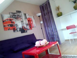 Studio Cergy-Pontoise(Eragny) 1-3 pers - Cergy-Pontoise vacation rentals