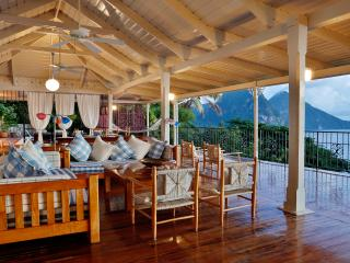 Romantic villa in Soufriere with fabulous views out to the Pitons. - Saint Lucia vacation rentals