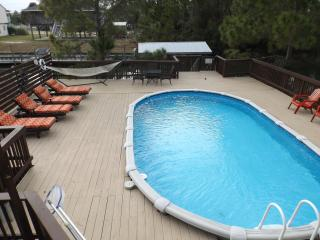 NO FEE! Private pool, boat dock, steps from beach - Saint Teresa vacation rentals
