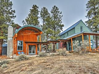 'Laybourne Mesa Retreat' One-of-a-Kind Placerville Villa w/Unique Modern Features, Copious Outdoor Space & Breathtaking Mountain Views - Sprawling Compound w/ Easy Access to Abundant Year-Round Recreation! - Placerville vacation rentals