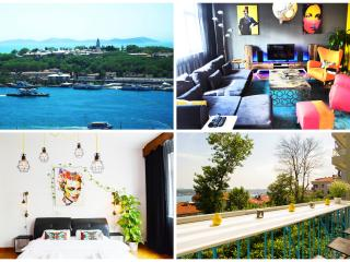LUXURY SEA VIEW APT WITH BALCONY - Istanbul vacation rentals