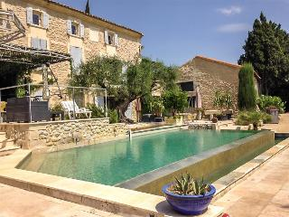 Le Mas Icard - Near Avignon, Modern Villa with Two Terraces, Pool, and View of - Barbentane vacation rentals