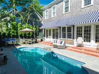 OCONS - Luxury Main and Guest House, Heated Pool, A/C, Located in Village Area, Walk to Light House Beach - Edgartown vacation rentals