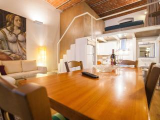Cool metropolitan lifestyle loft with Wi-Fi and 2 bicycles - Florence vacation rentals