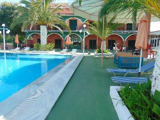 Quiet,secluded studio for 5p, shared pool & Free pick up on arrival - Agios Ioannis vacation rentals