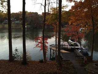 Updated lakefront home on private cove w/ hot tub - Statesville vacation rentals