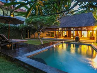 Relaxing Pool Villa in Double Six, 300m to beach & shop - Seminyak vacation rentals