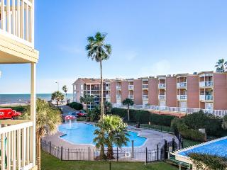 Pool views and shared hot tub in fantastic island location! - Galveston Island vacation rentals