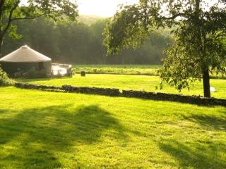 Beautiful Solar-Powered Yurt at The Sanctuary - East Haddam vacation rentals