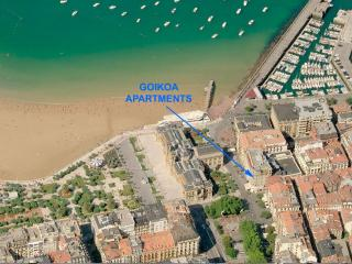 012 / GOIKOA 2 NAUTIC, in the heart of the city - San Sebastian - Donostia vacation rentals