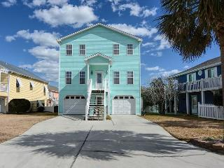 Livin' Simply - Gorgeous 4 bedroom oceanview house, sleeps 10. - Kure Beach vacation rentals